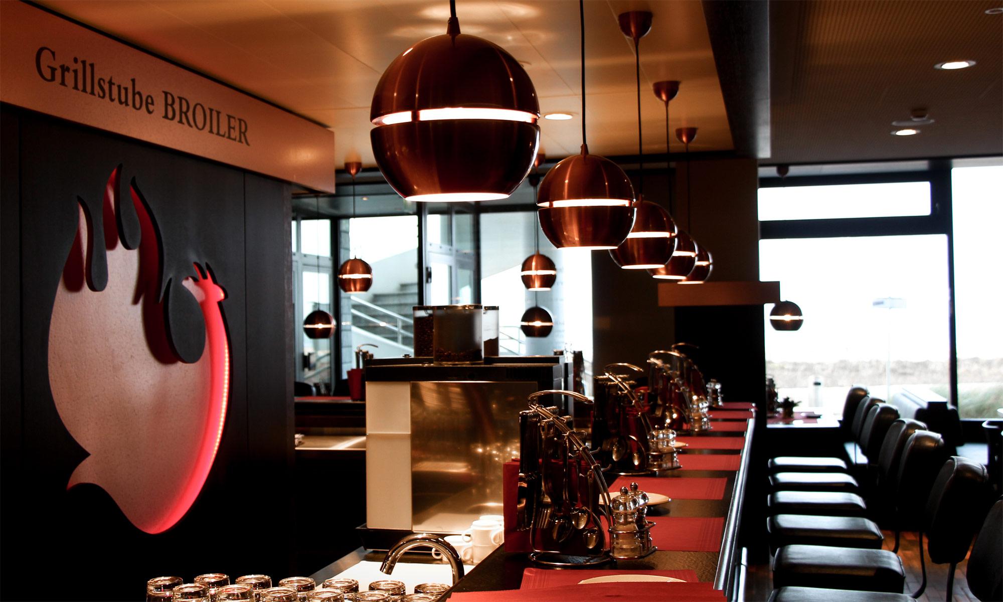 Grillstube Broiler im Hotel Neptun