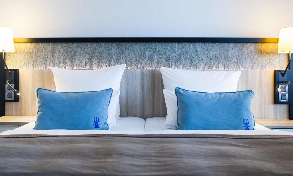 Hotel Neptun Zimmer mit Doppelbett