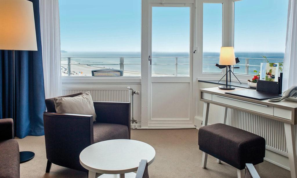 Hotel Neptun Zimmer mit Meerblick
