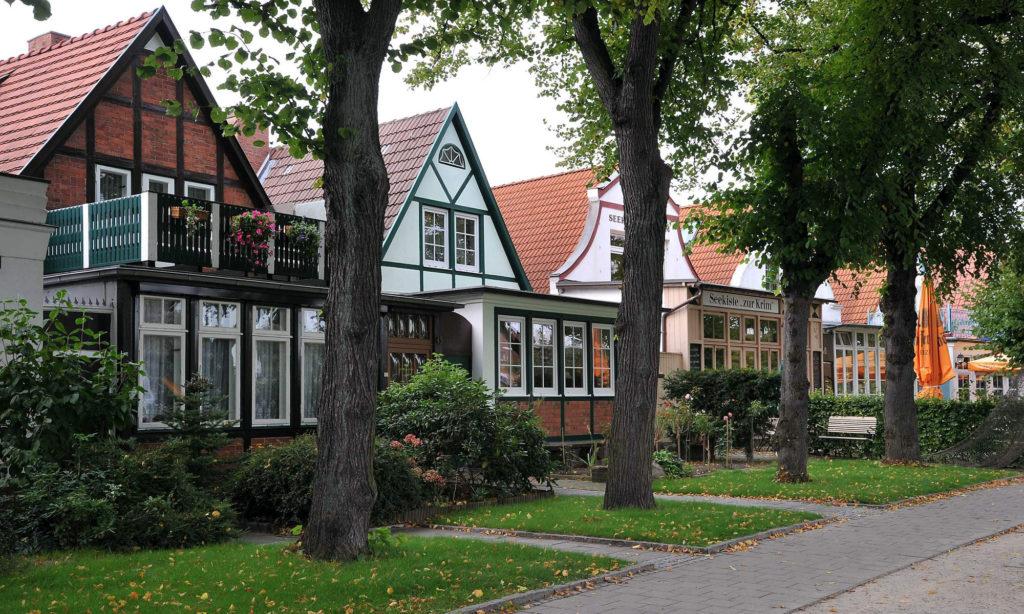 Häuser am Alten Strom