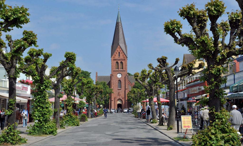 Kirche und Mühlenstraße