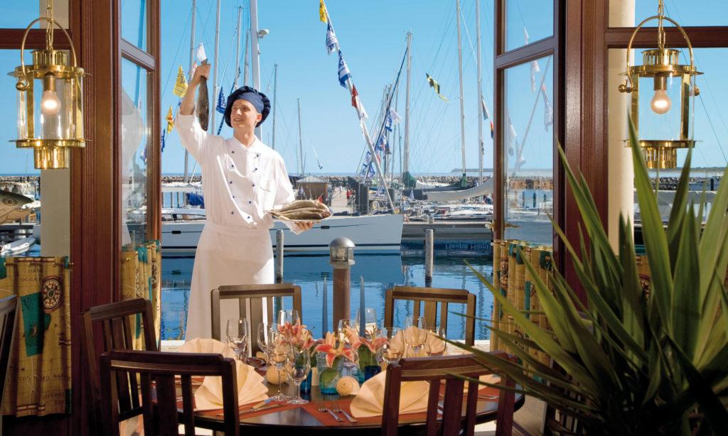 Yachthafenresidenz Hohe Düne Restaurant